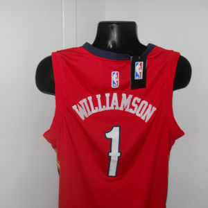 Nike NBA Shirts - New Orleans Pelicans #1 Zion Williamson